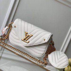NWT Louis Vuitton New Wave Multi-Pochette  White